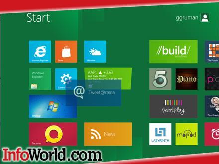 Windows 8 Metro: обзор нового интерфейса