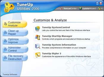 TuneUp Utilities 2006 v5.3.2343