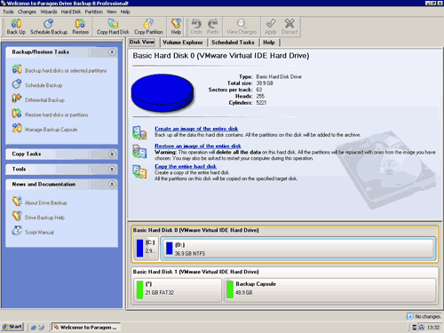 Drive Backup Professional 8.0