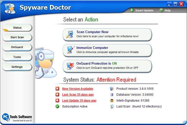Spyware Doctor 3.8.0.2582 (Full)