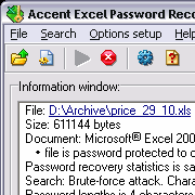 Accent Office Password Recovery 2.50 beta
