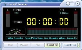 Free MP3 Recorder 1.0