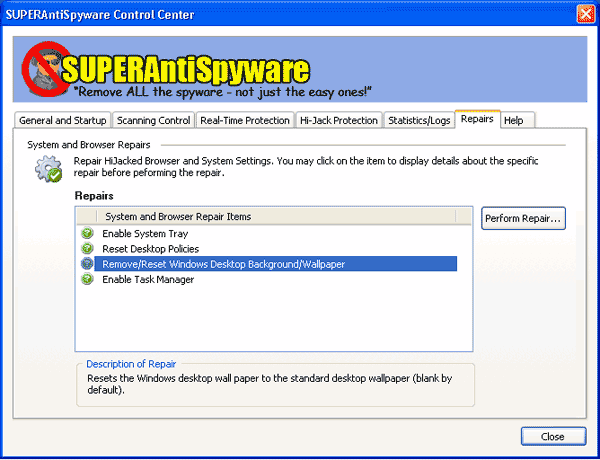 SUPERAntiSpyware Free Edition 3.2.1028