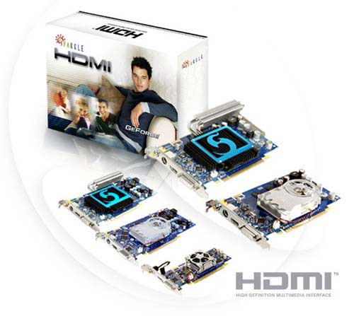 Sparkle ��������� GeForce 7 � HDMI