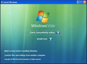 C Windows XP на Windows Vista
