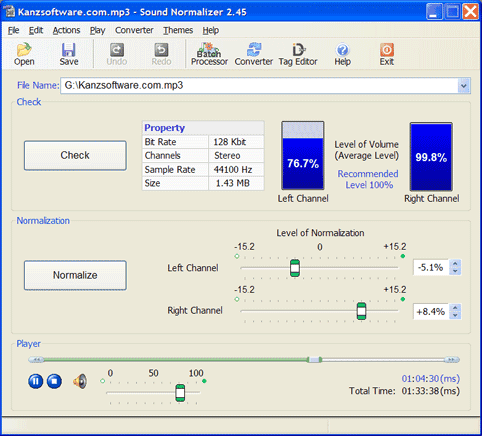 Sound Normalizer 2.45
