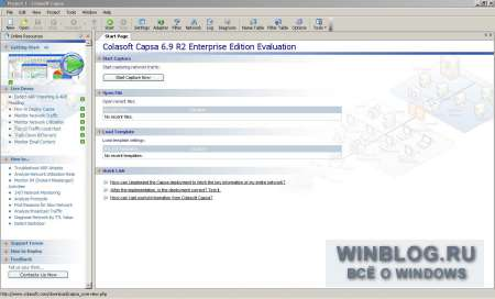Colasoft Capsa Network Analyzer 6.9 R2 Enterprise Edition: �����