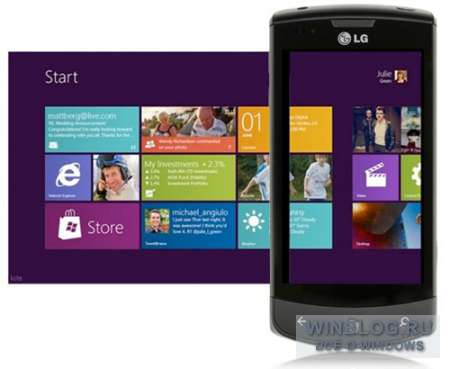 Windows 8 включит в свой состав сервис Zune и поддержку Windows Phone 8