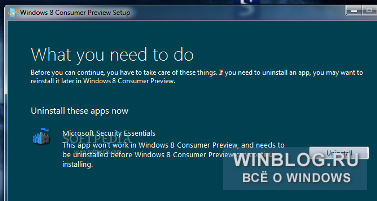 Windows 8 �������� ���������� �����������