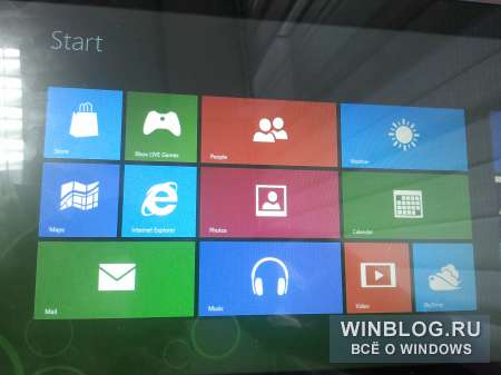 ������������� Windows 8 Consumer Preview