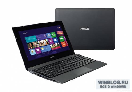 ASUS �������� ����� ��������� ������� �� Windows 8 � ��������� �������