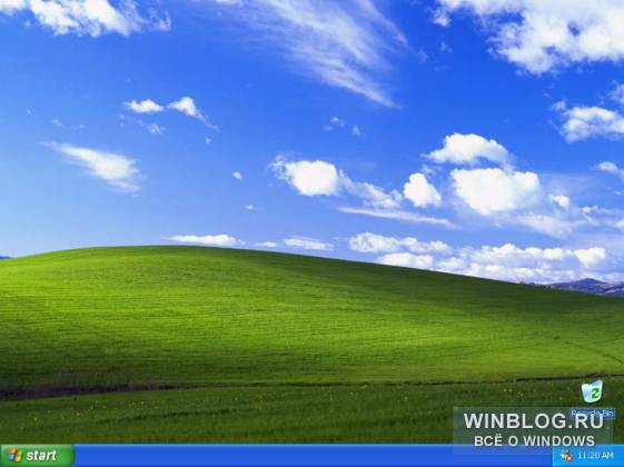 ��������� Windows XP ����� ��������