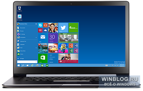 Windows 10 Technical Preview �������� ��� ��������