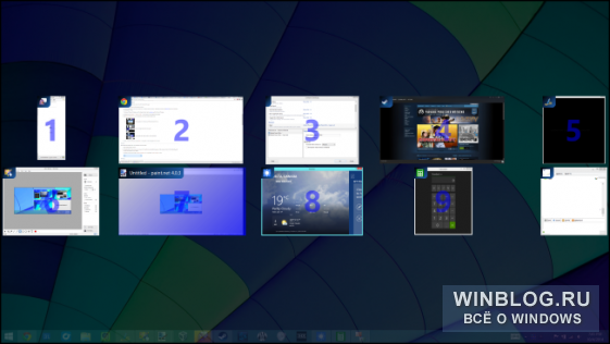 ����� �������� ������� Windows 10, ��������� ��� Windows 7 � 8
