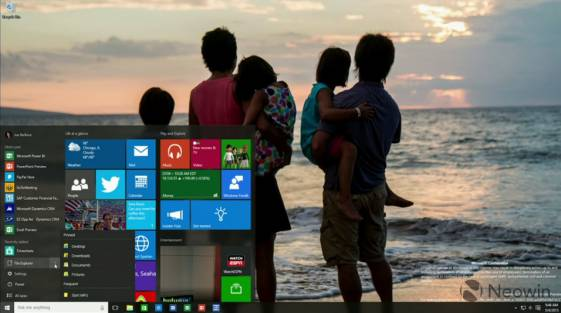 Windows 10: ��������� ������ 10105-10108