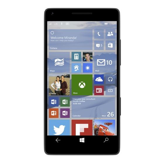 Windows 10 Mobile ������ ������ 2015 ����