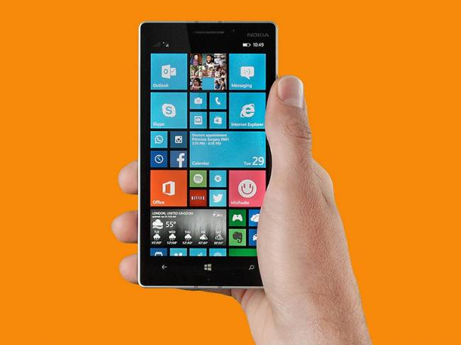 Windows 10 Mobile ������� �� ���