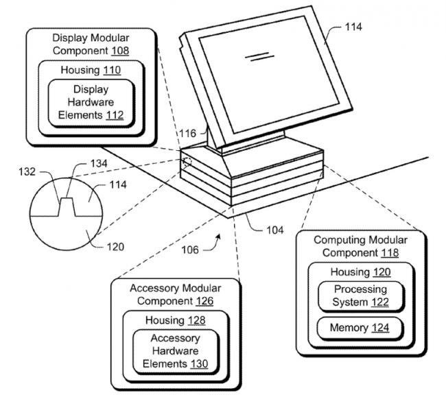 Microsoft патентует модульный компьютер