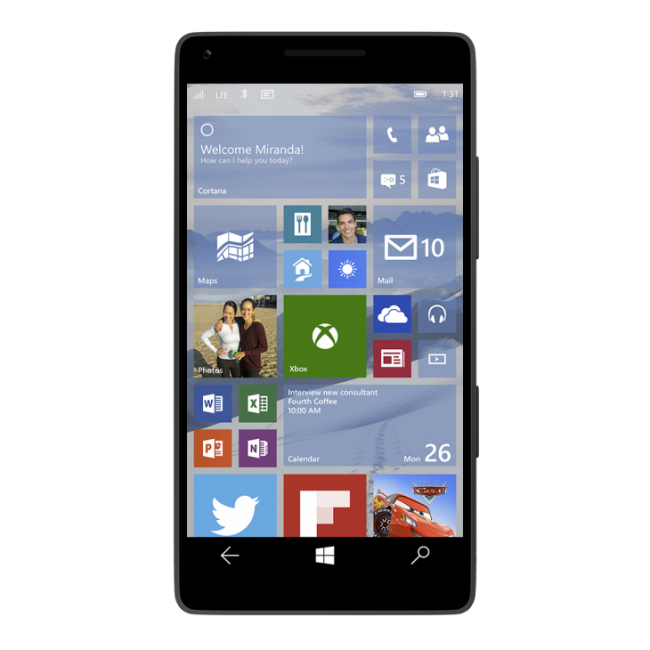 Windows 10 Mobile тоже получит Redstone