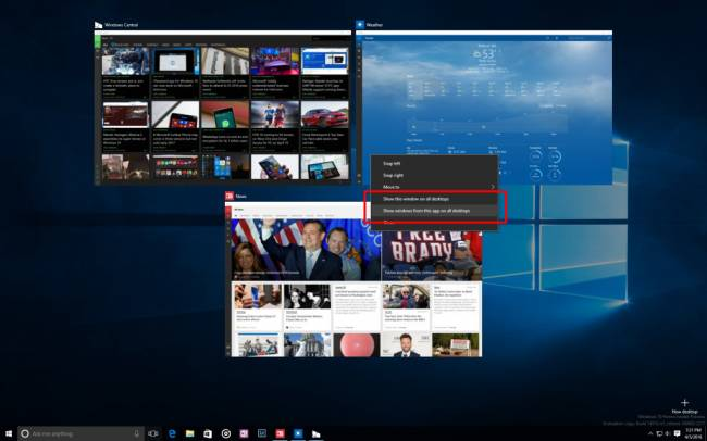 Windows 10 Insider Preview ������ ��������