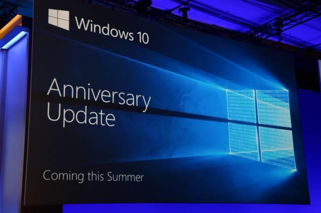 Windows Anniversary Update будет распространяться постепенно