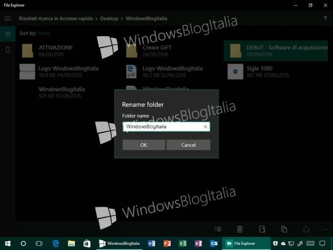 Проводник для Windows 10 обновят