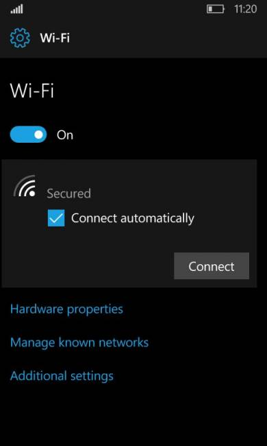 ��������� Wi-Fi � Windows 10 ������� ��������������