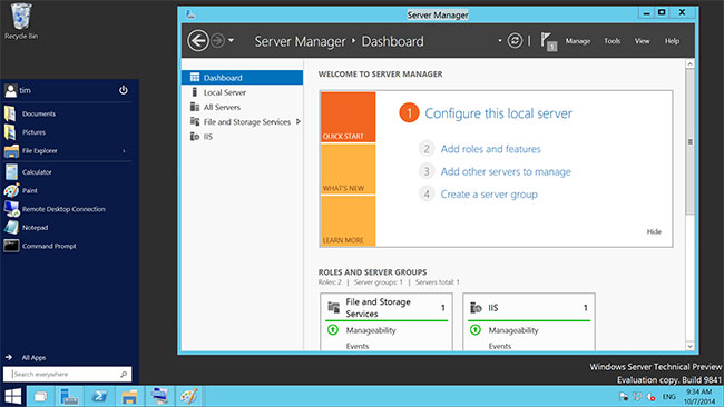Преимущества Windows Server 2016